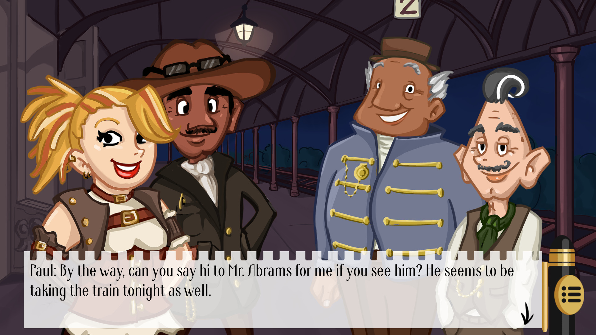 Detective Hank and the Golden Sneeze screenshot
