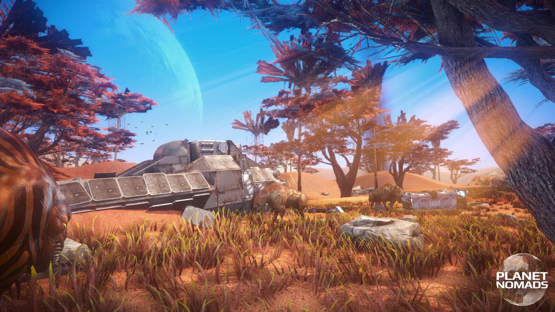 Planet Nomads 0.3.1 скачать торрент