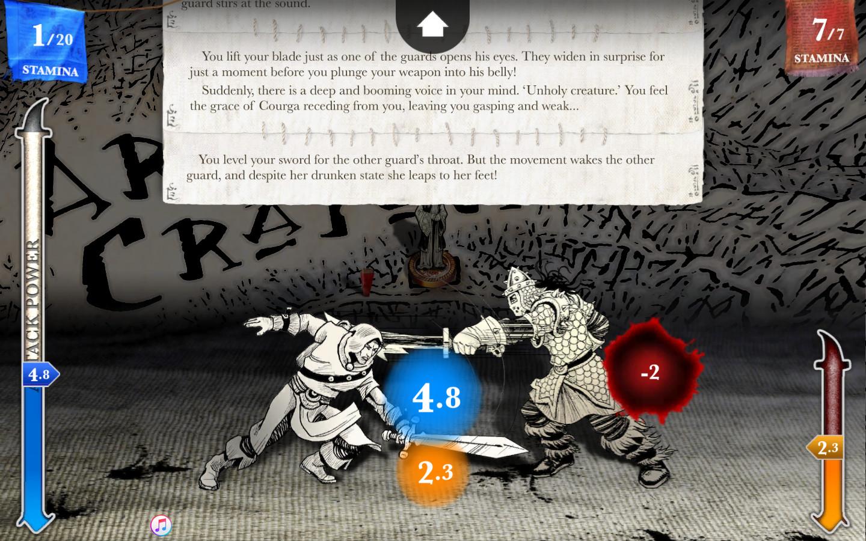 Sorcery! Part 4 screenshot