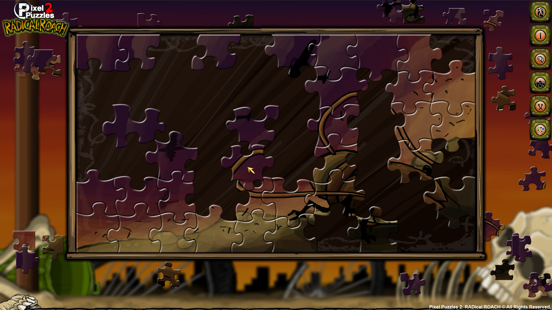 Pixel Puzzles 2: RADical ROACH screenshot