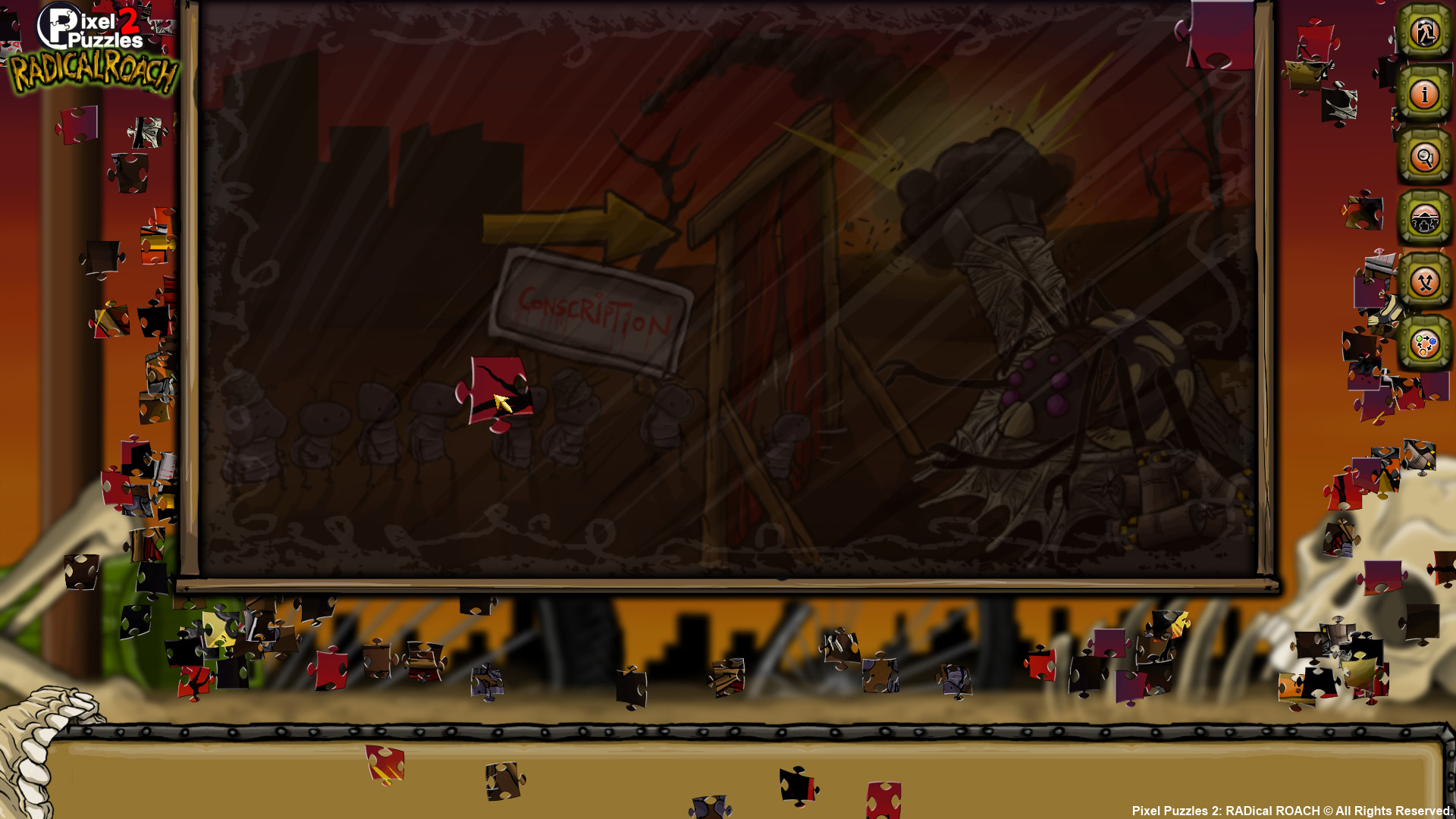 Pixel Puzzles 2: RADical ROACH screenshot