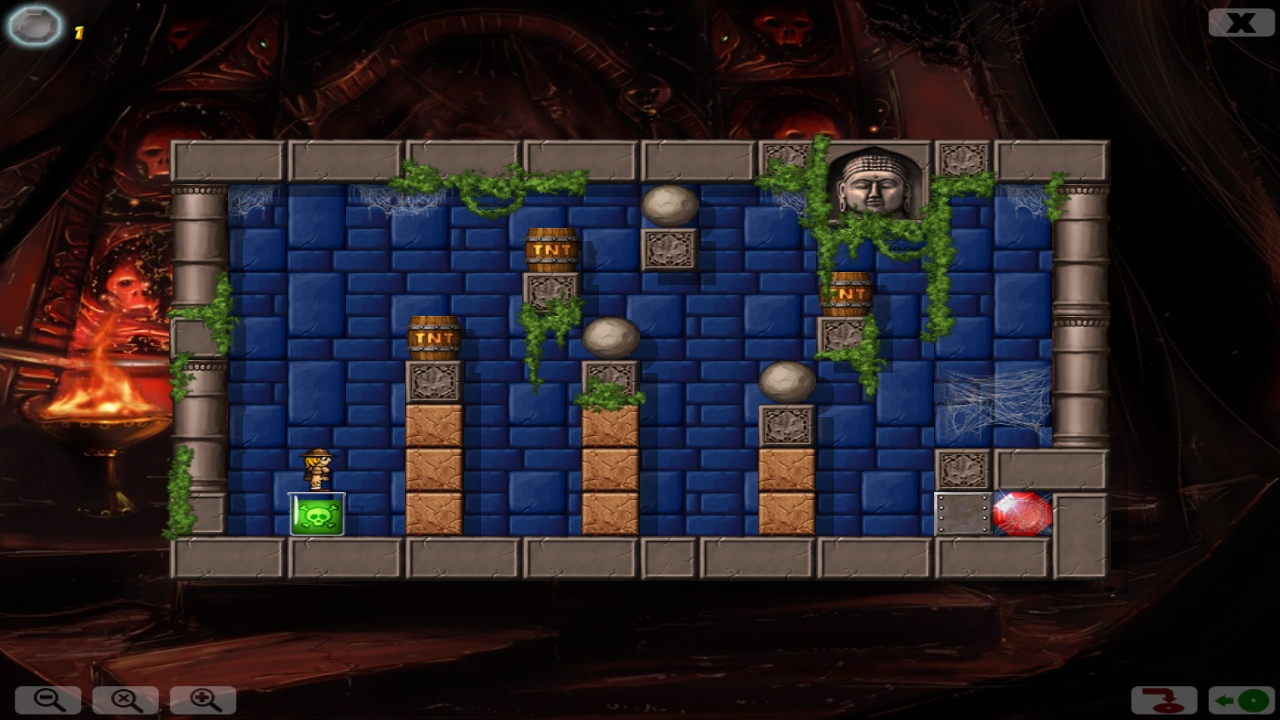 Diamond Joyce and the Secret of Crystal Cave screenshot