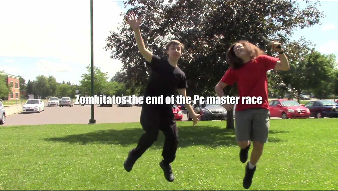 Zombitatos the end of the Pc master race screenshot