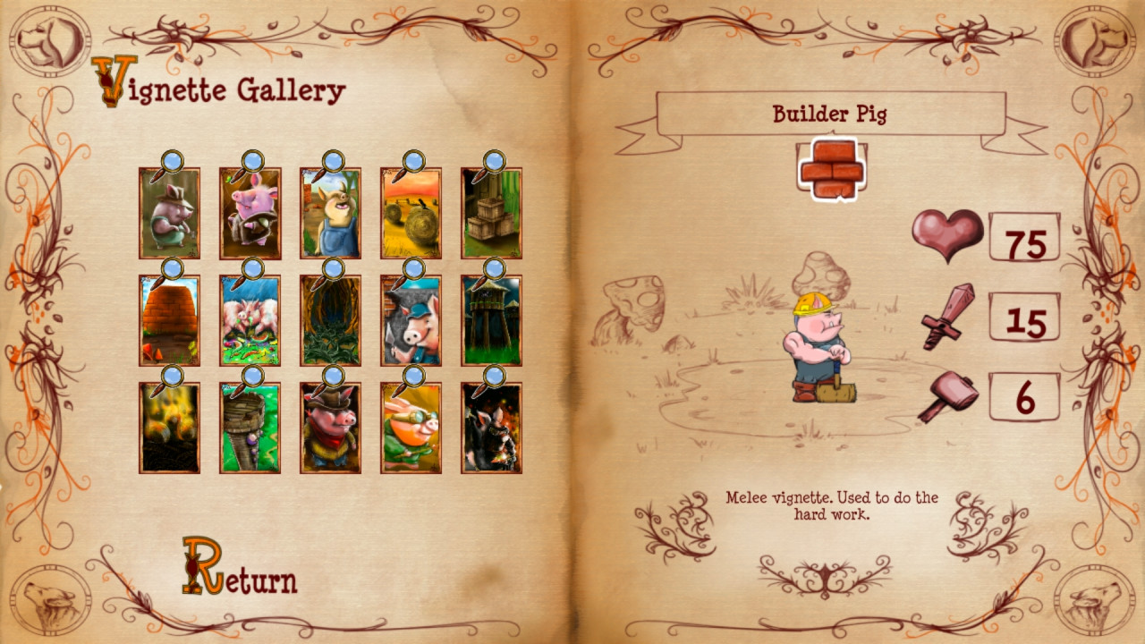 Bacon Tales - Between Pigs and Wolves screenshot