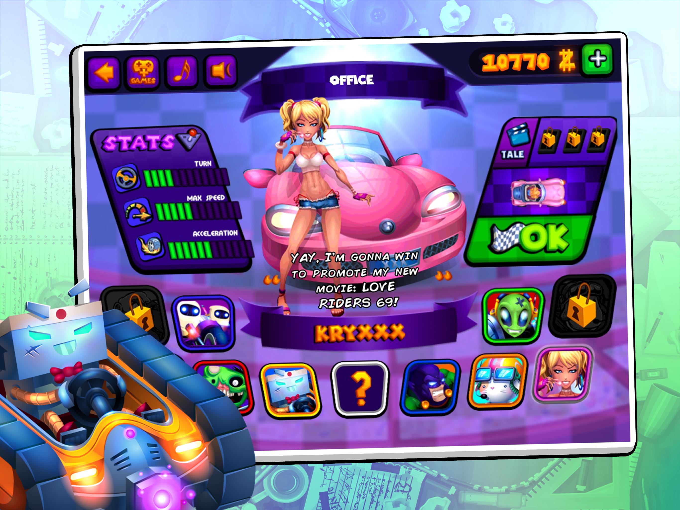 Mini Z Racers Turbo screenshot