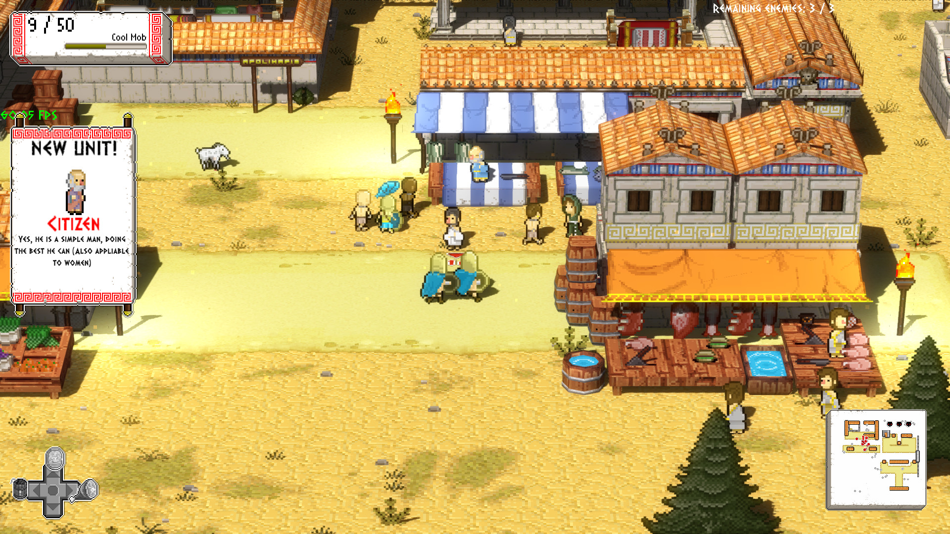 Okhlos - Prototypes screenshot