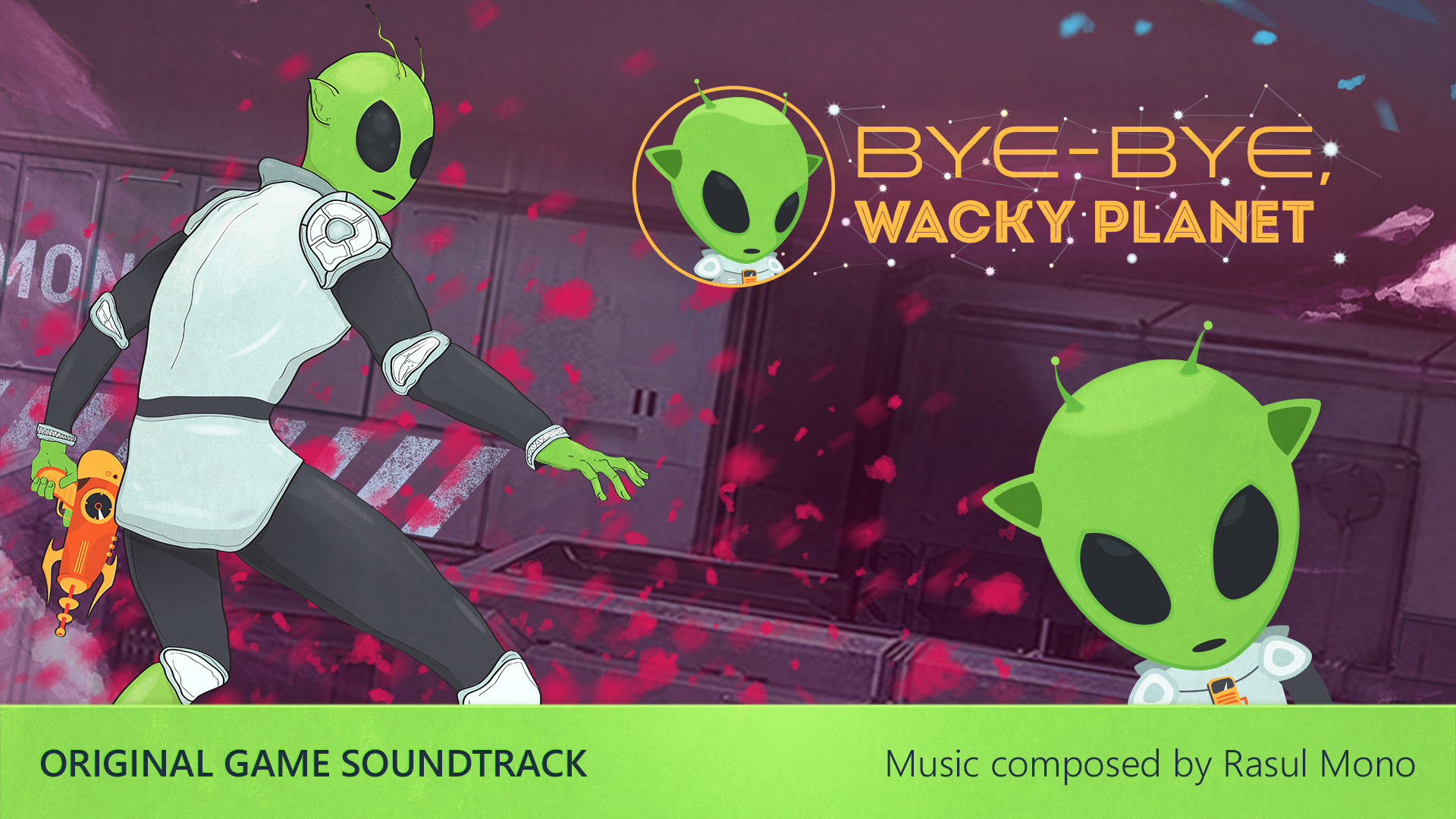 Bye-Bye, Wacky Planet - Soundtrack screenshot