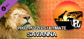 Pixel Puzzles Ultimate - Puzzle Pack: Savanna