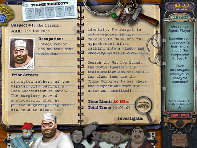 Mystery Case Files: Prime Suspects screenshot