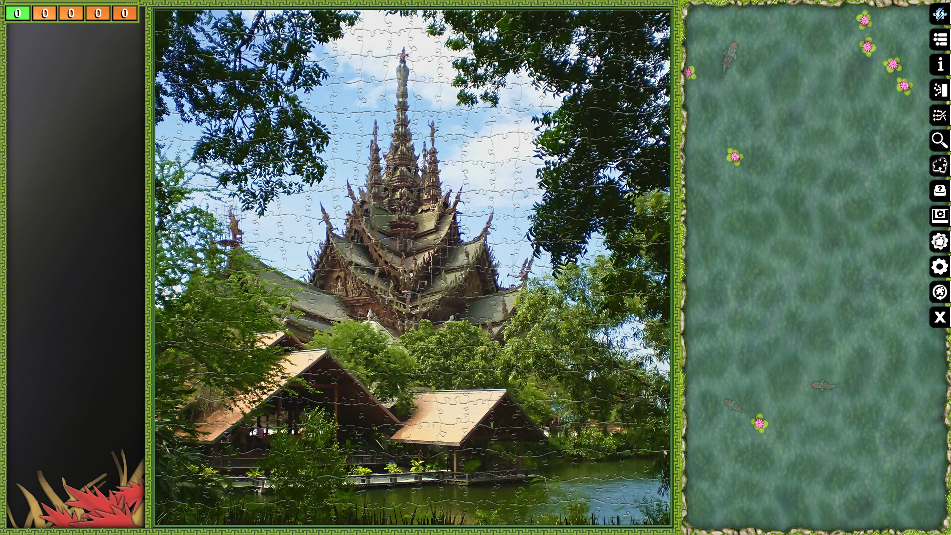 Pixel Puzzles Ultimate - Puzzle Pack: Thailand screenshot