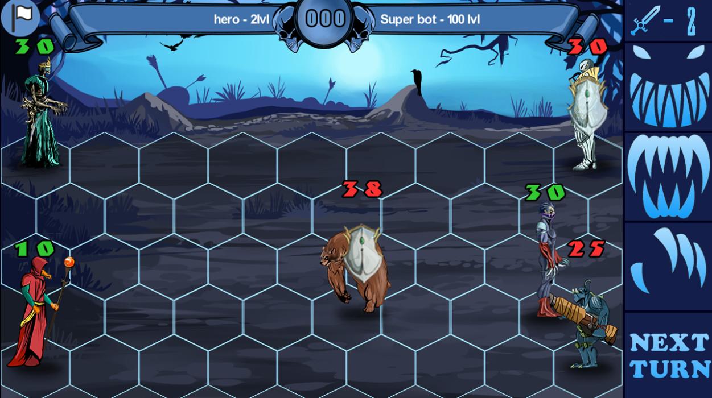 Forgotten Heroes screenshot