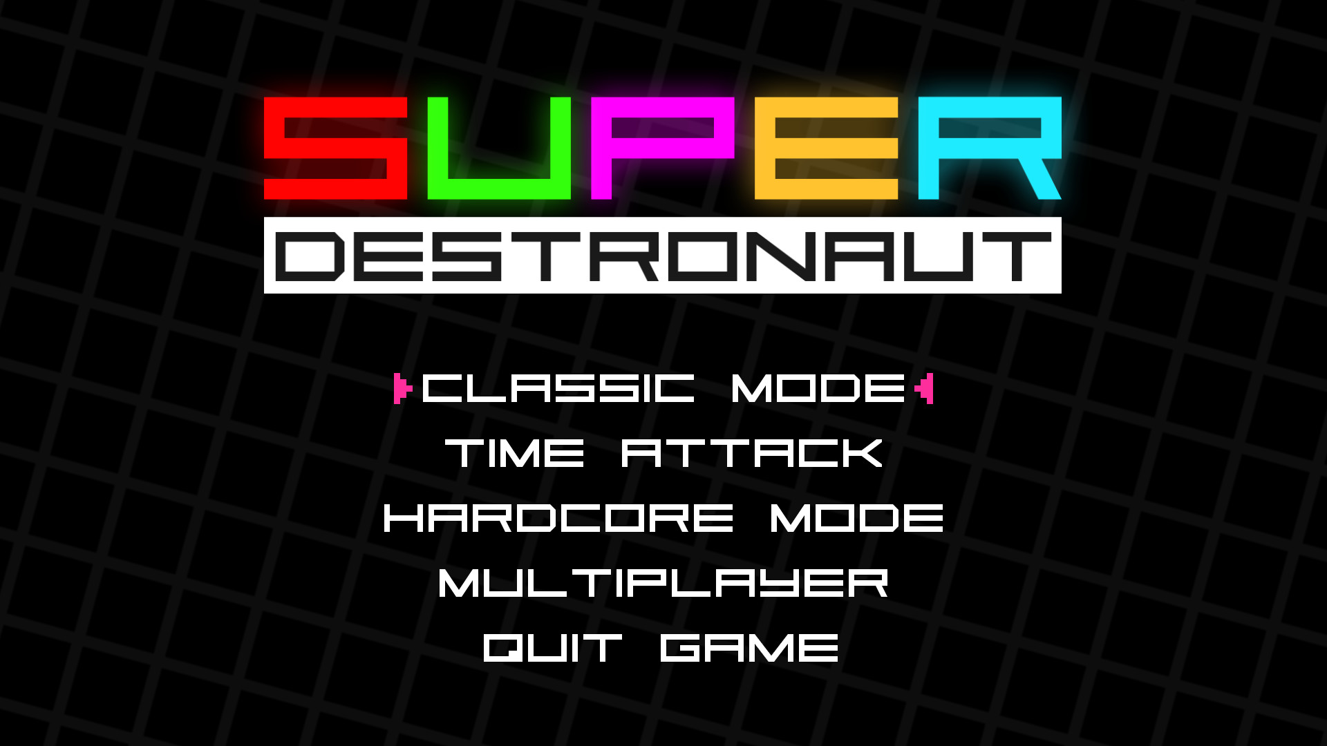 Super Destronaut screenshot