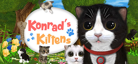 Konrad the Kitten - a virtual but real cat