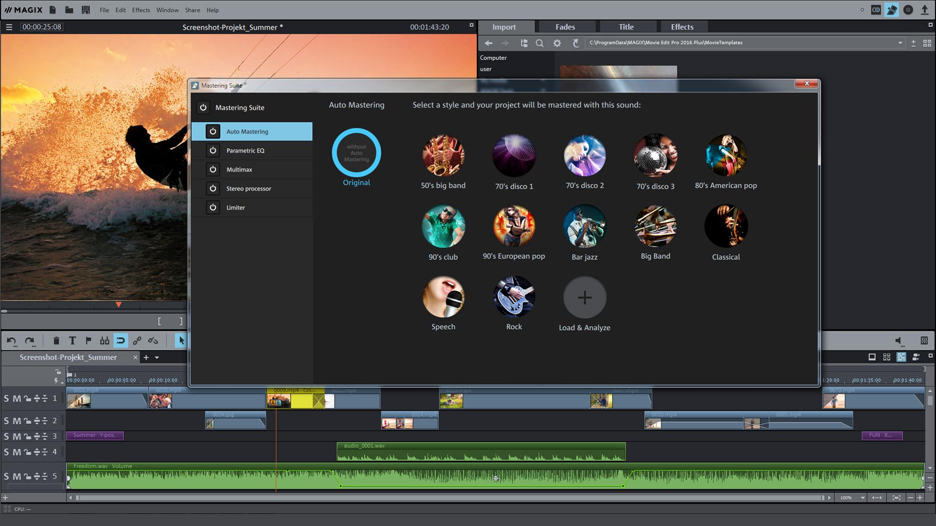 MAGIX Movie Edit Pro Plus Steam Edition İndir Yükle ...