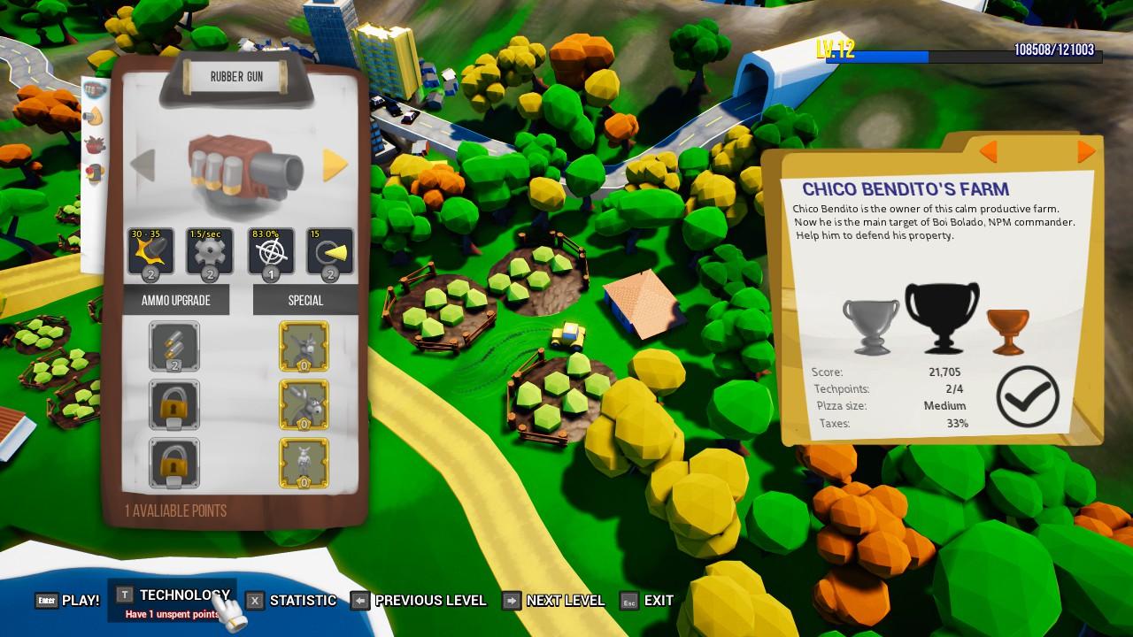 Hue Defense screenshot