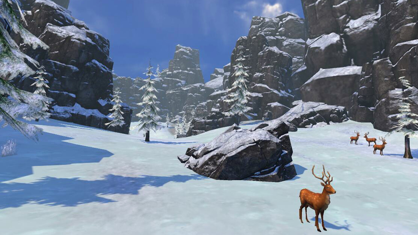 Fancy Skiing VR screenshot