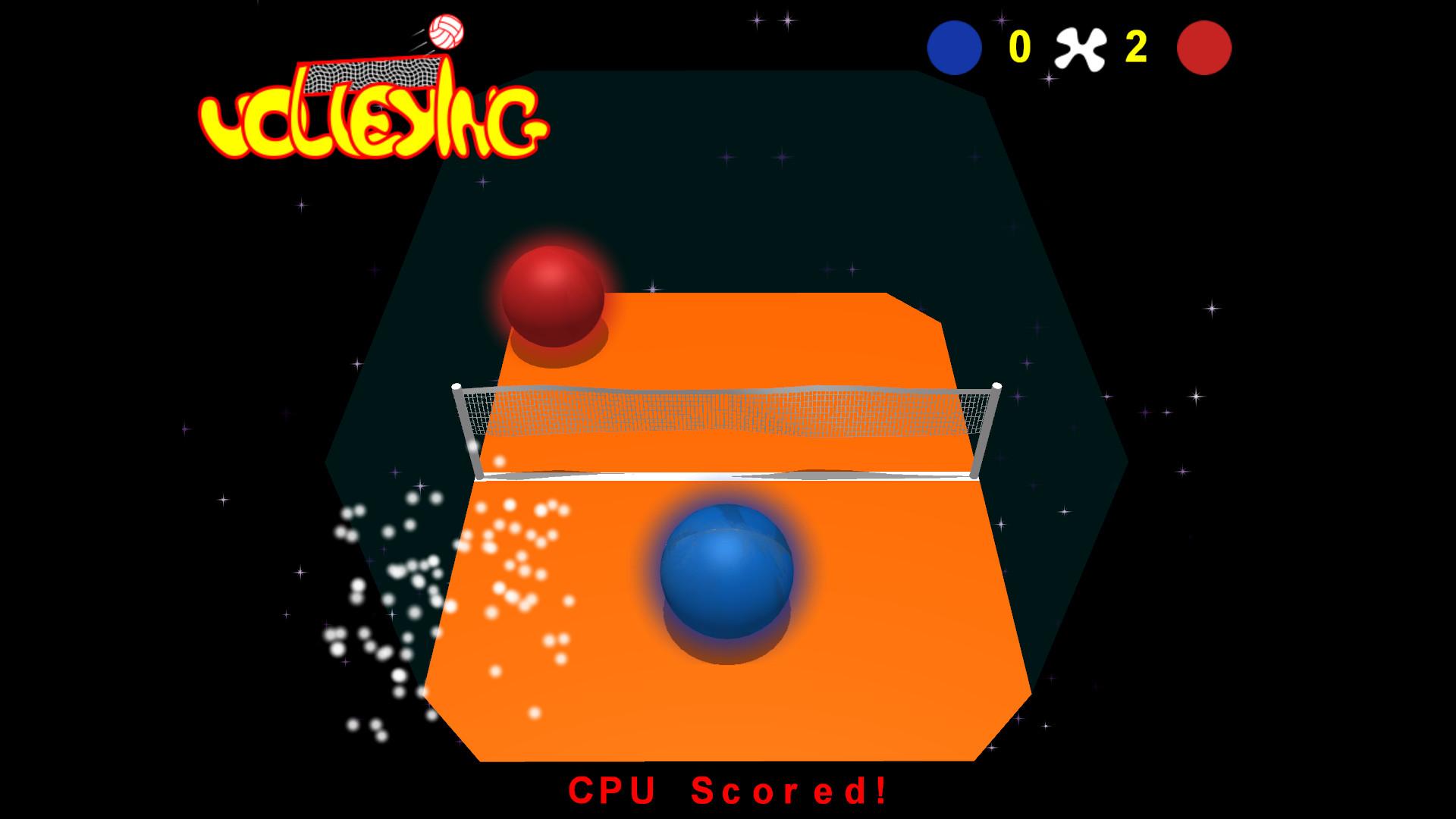 Volleying screenshot