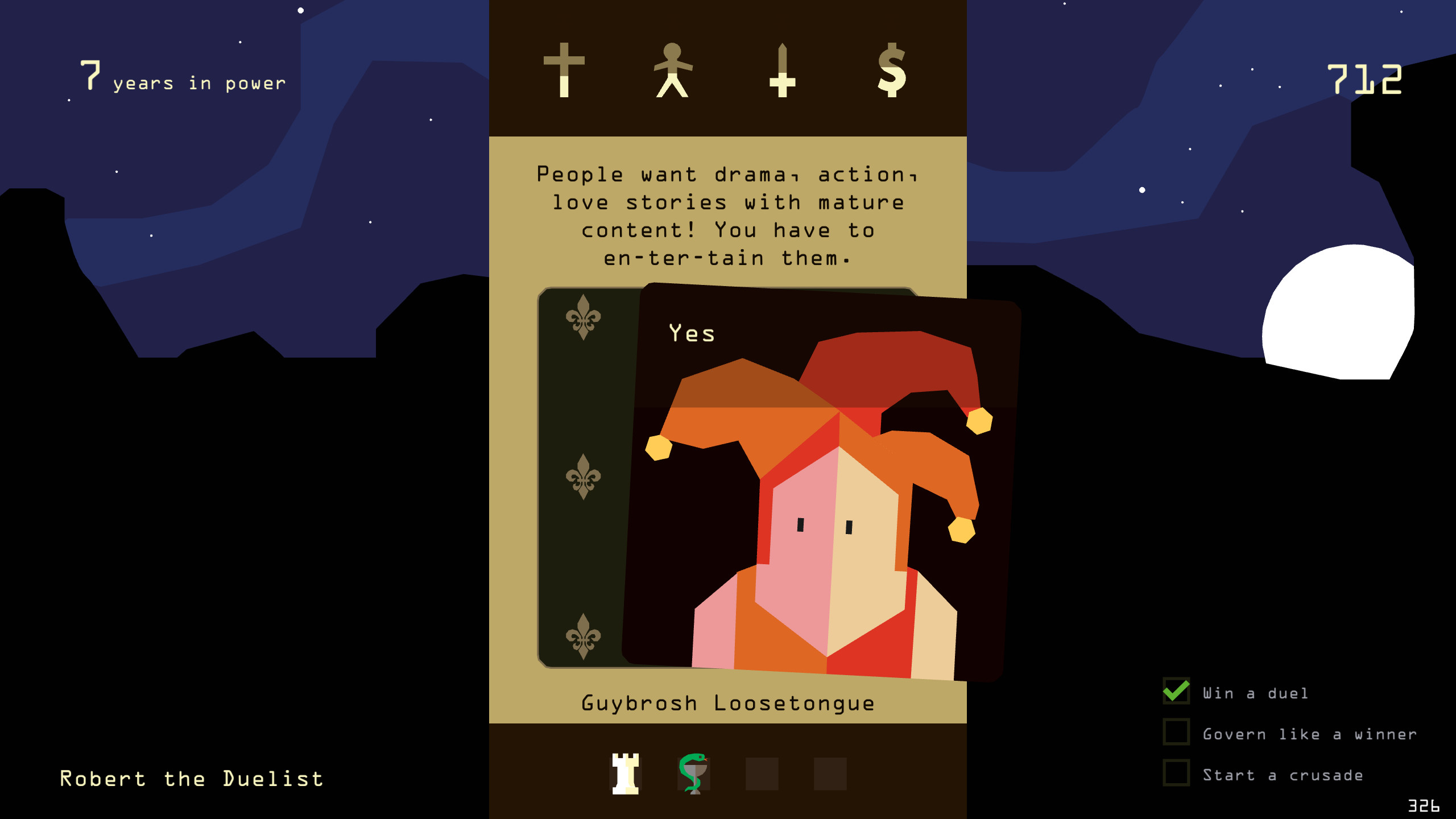 Reigns - Soundtrack screenshot