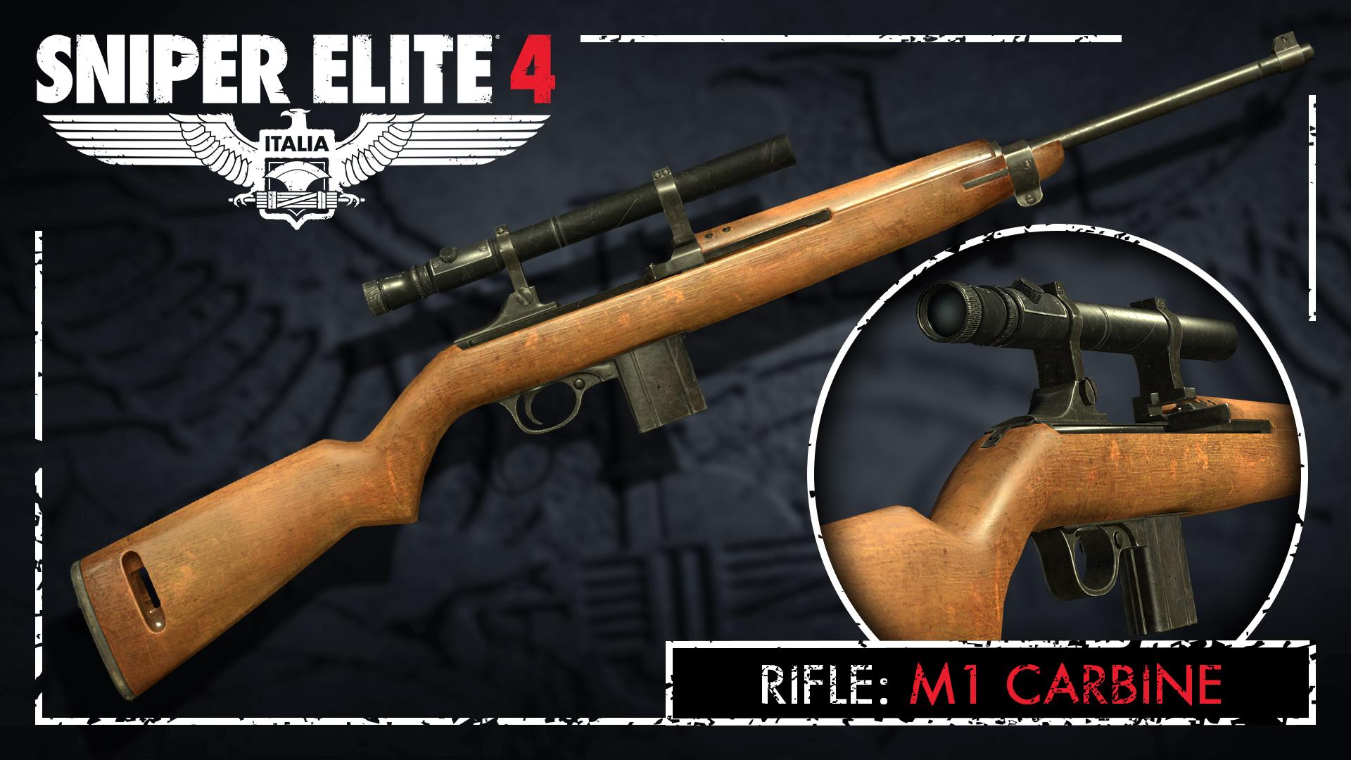 Sniper Elite 4 - Allied Forces Rifle Pack screenshot