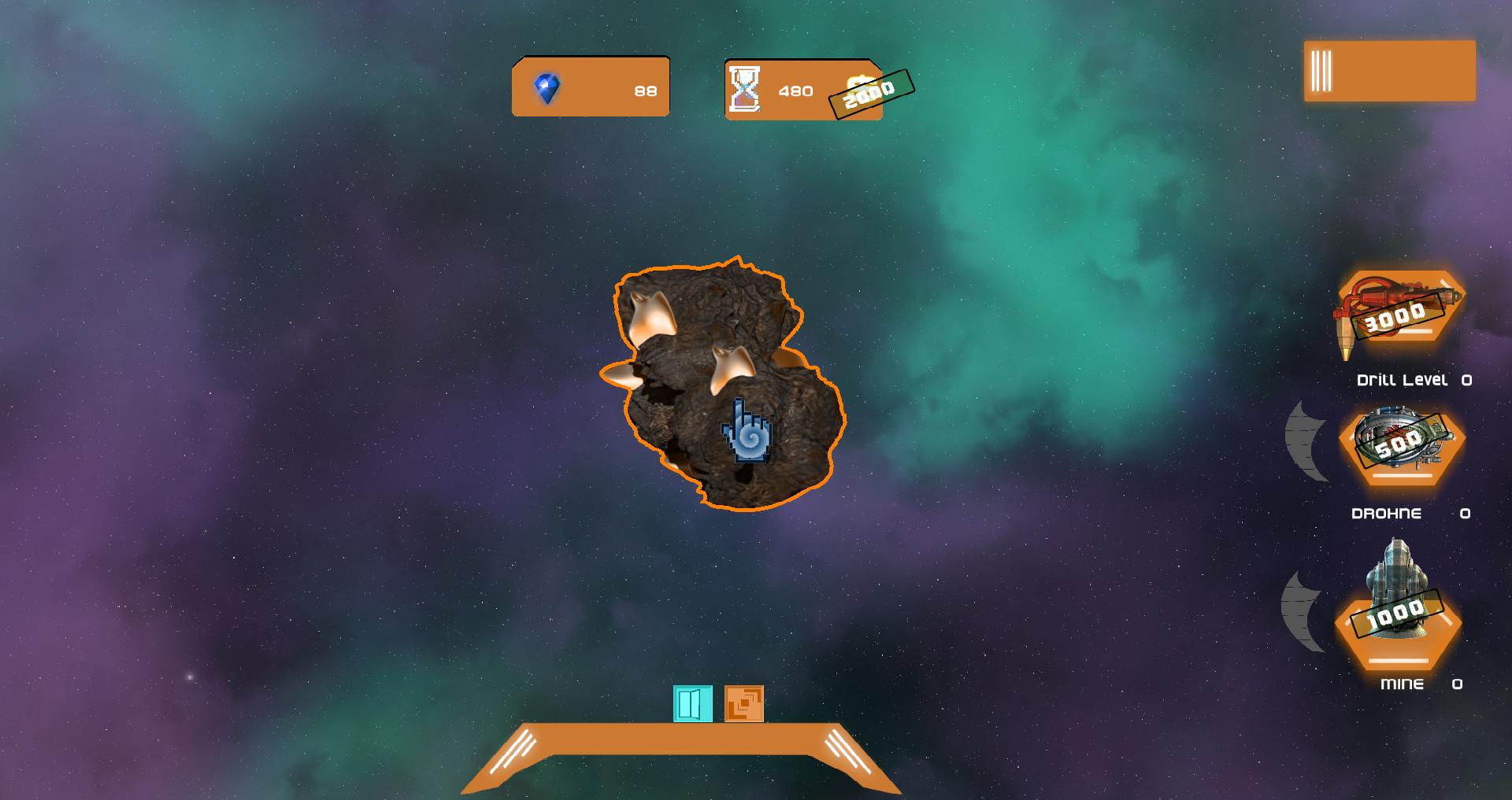 Click Space Miner screenshot