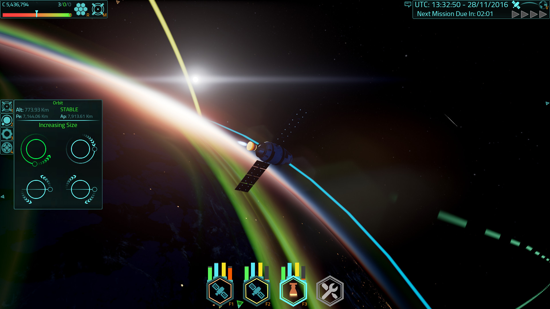 Satellite Command Screenshot 3