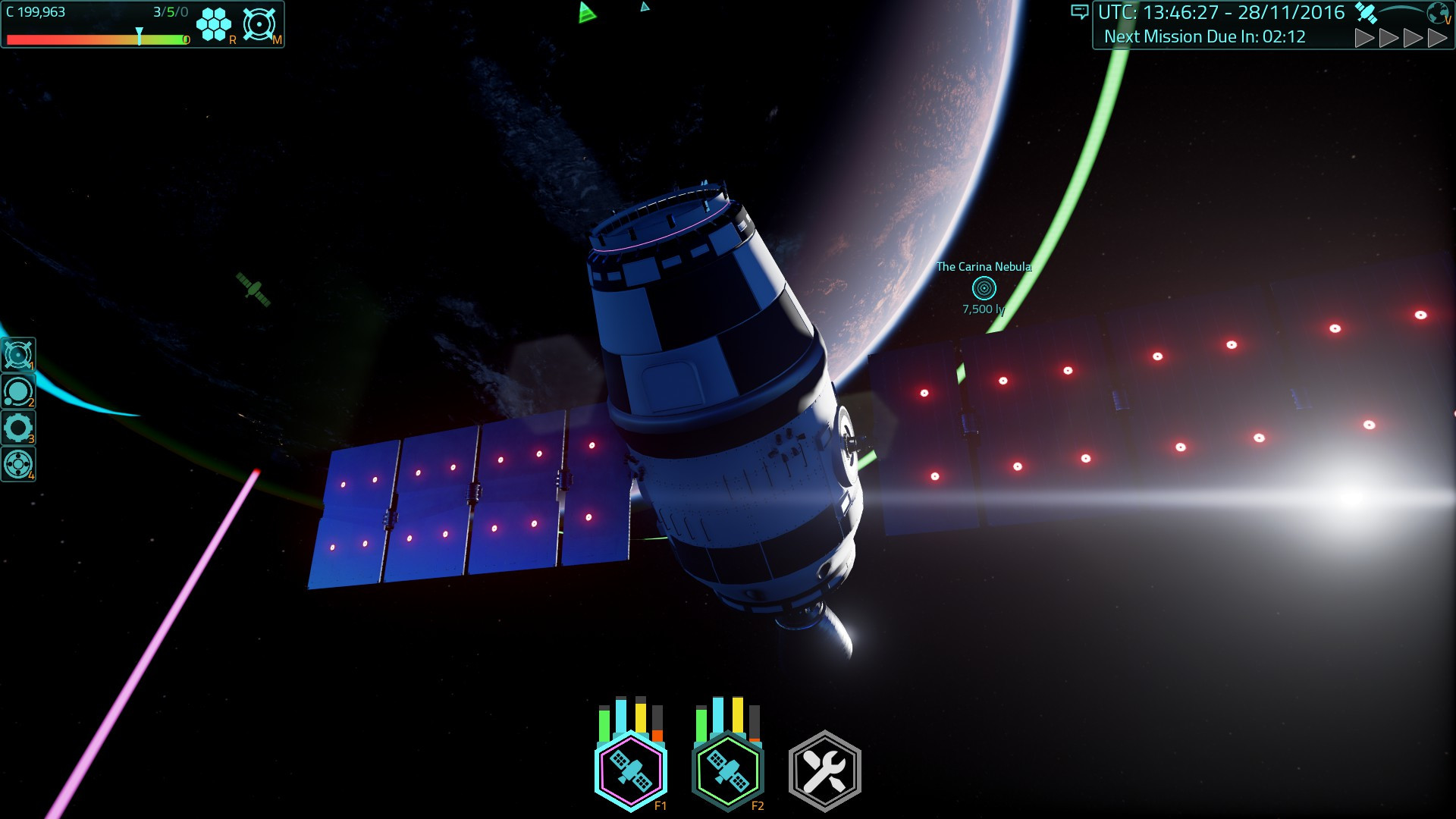 Satellite Command Screenshot 2