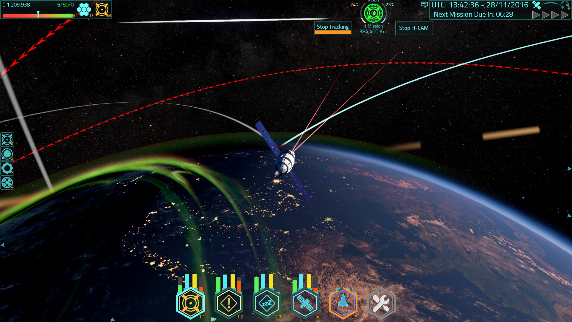 Satellite Command Screenshot 1