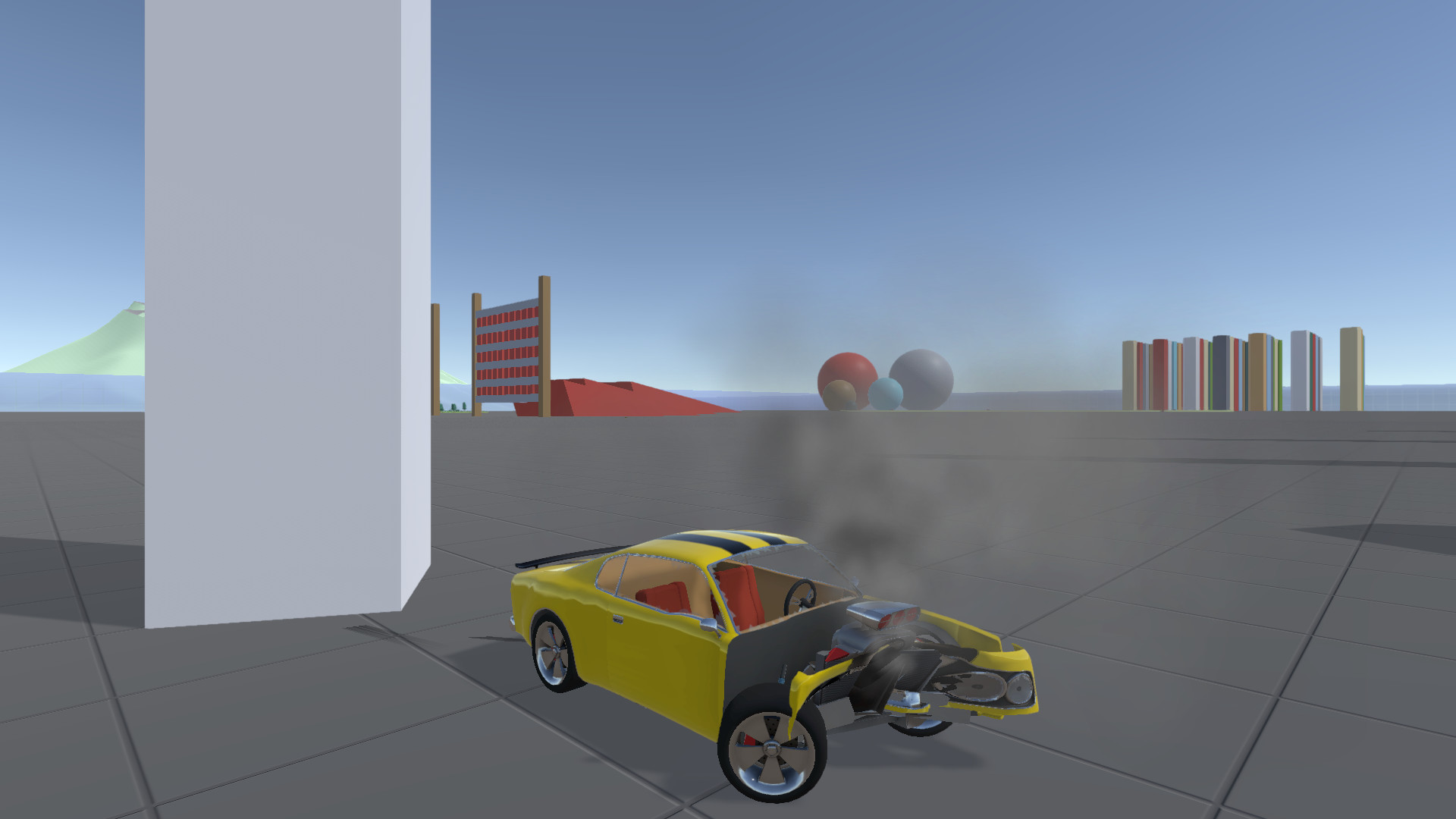 Crash Wheels screenshot