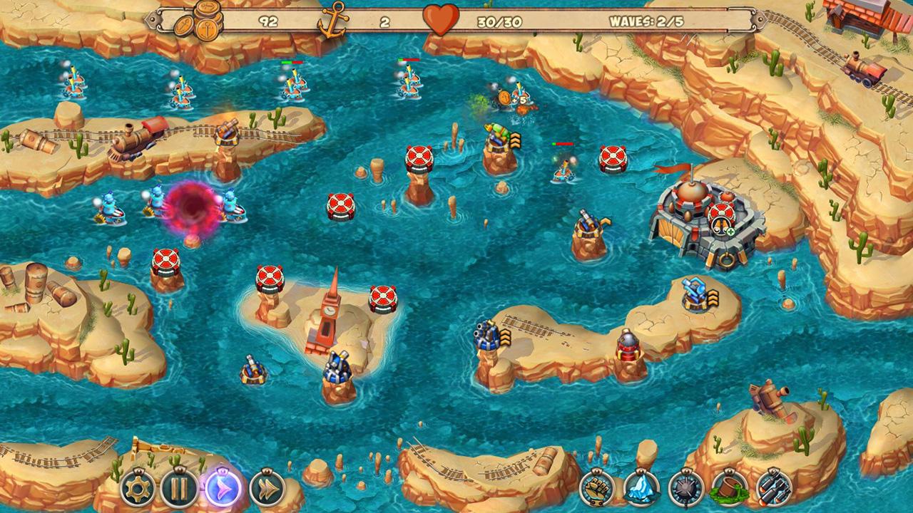 Iron Sea - The West Coast screenshot