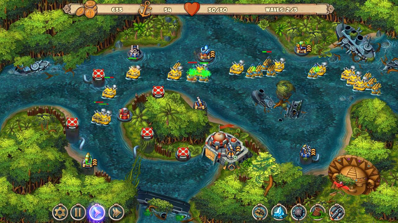 Iron Sea - Lost Land screenshot