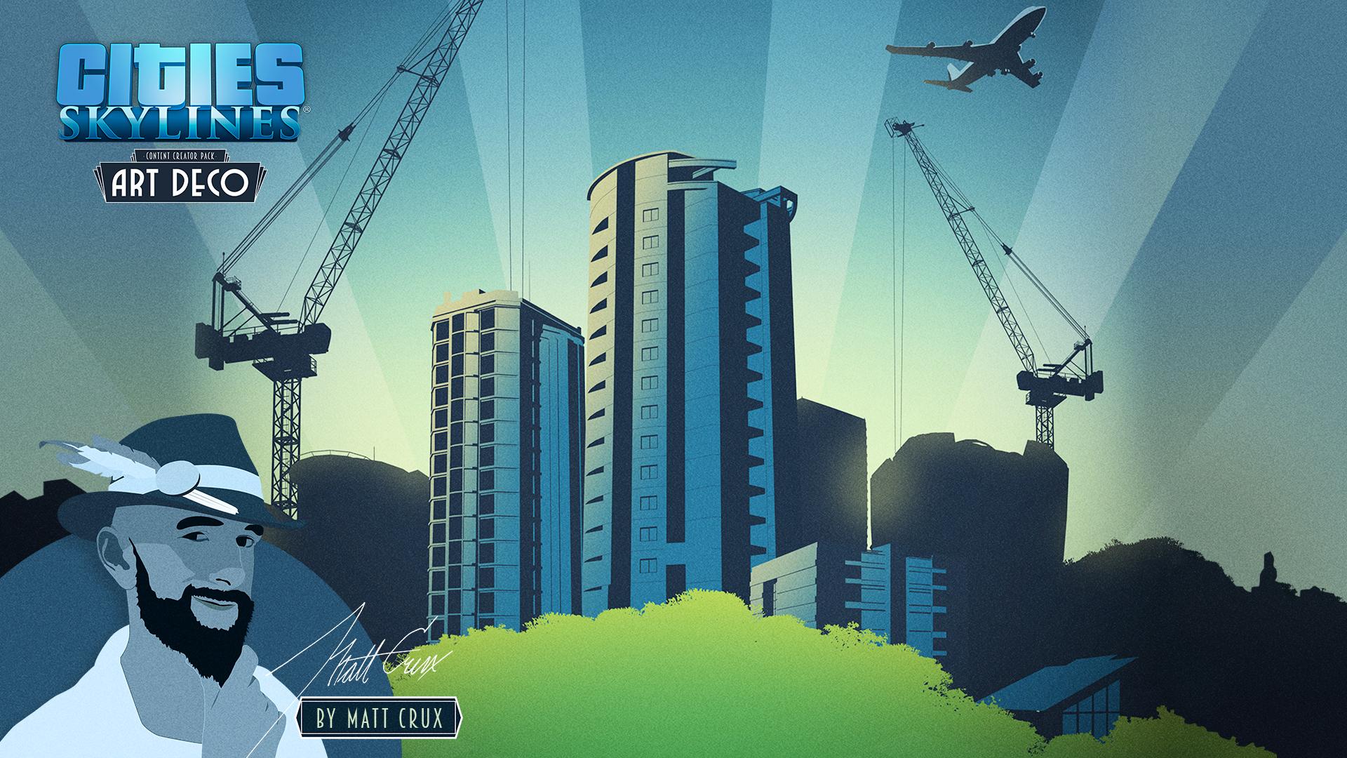 Cities: Skylines - Content Creator Pack: Art Deco screenshot