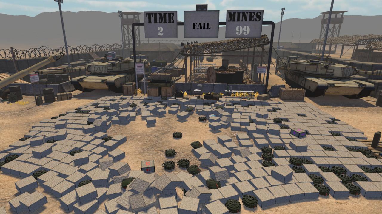 MineSweeper VR screenshot