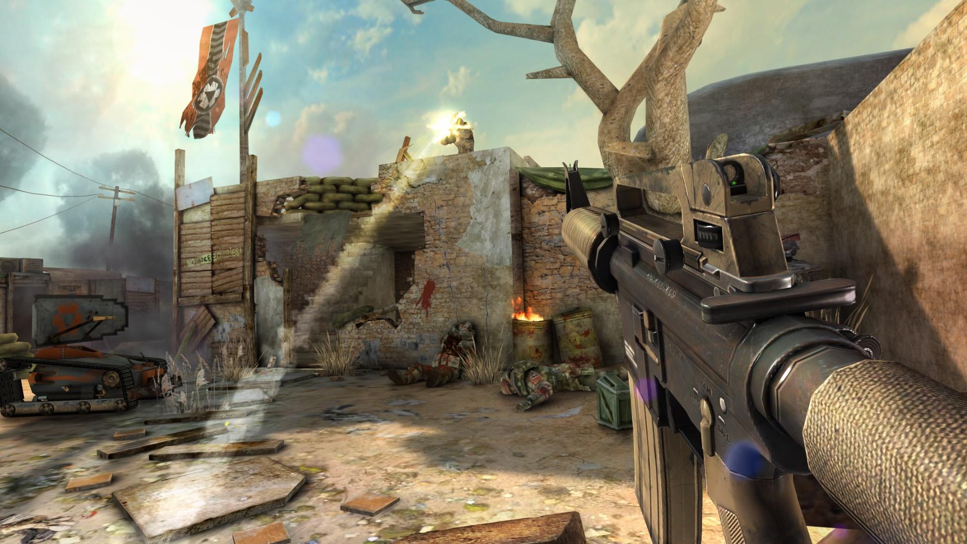 VRゲーム,Overkill VR,イメージ
