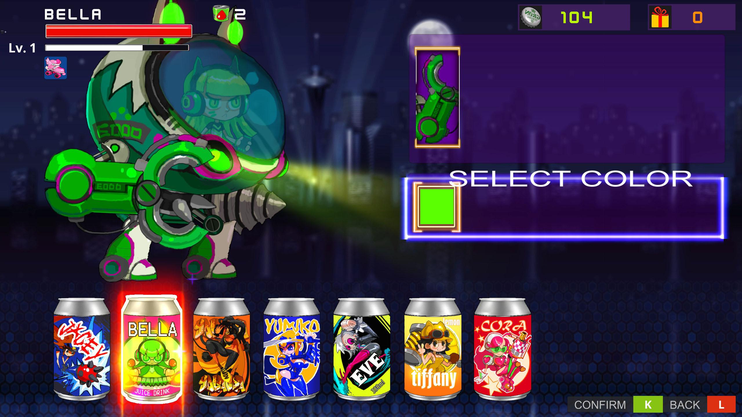 Soda Girls screenshot