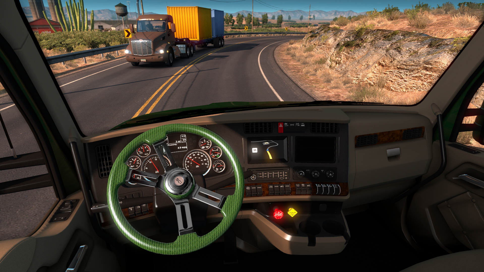 American Truck Simulator - Steering Creations Pack screenshot