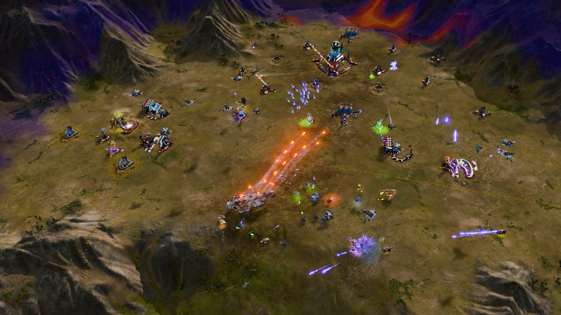 Ashes of the Singularity: Escalation - Overlord Scenario Pack DLC screenshot