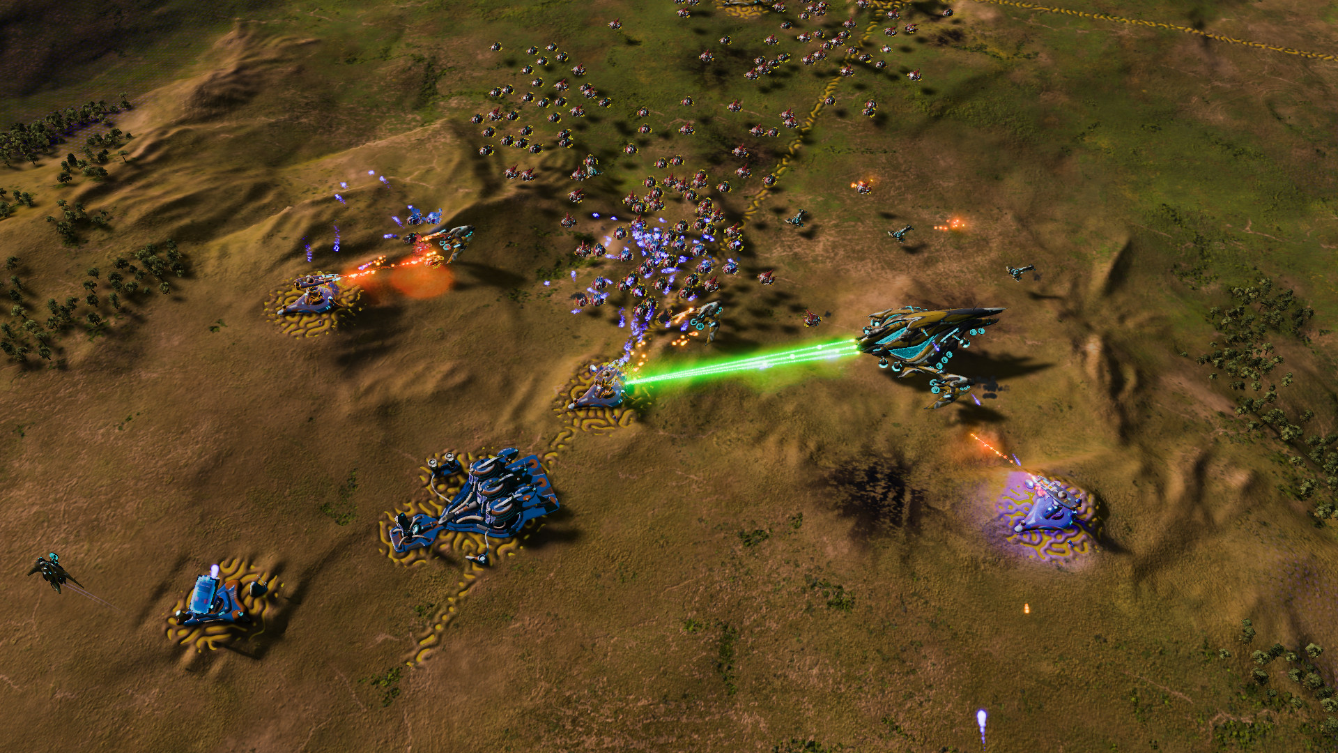 Ashes of the Singularity: Escalation - Epic Map Pack DLC screenshot