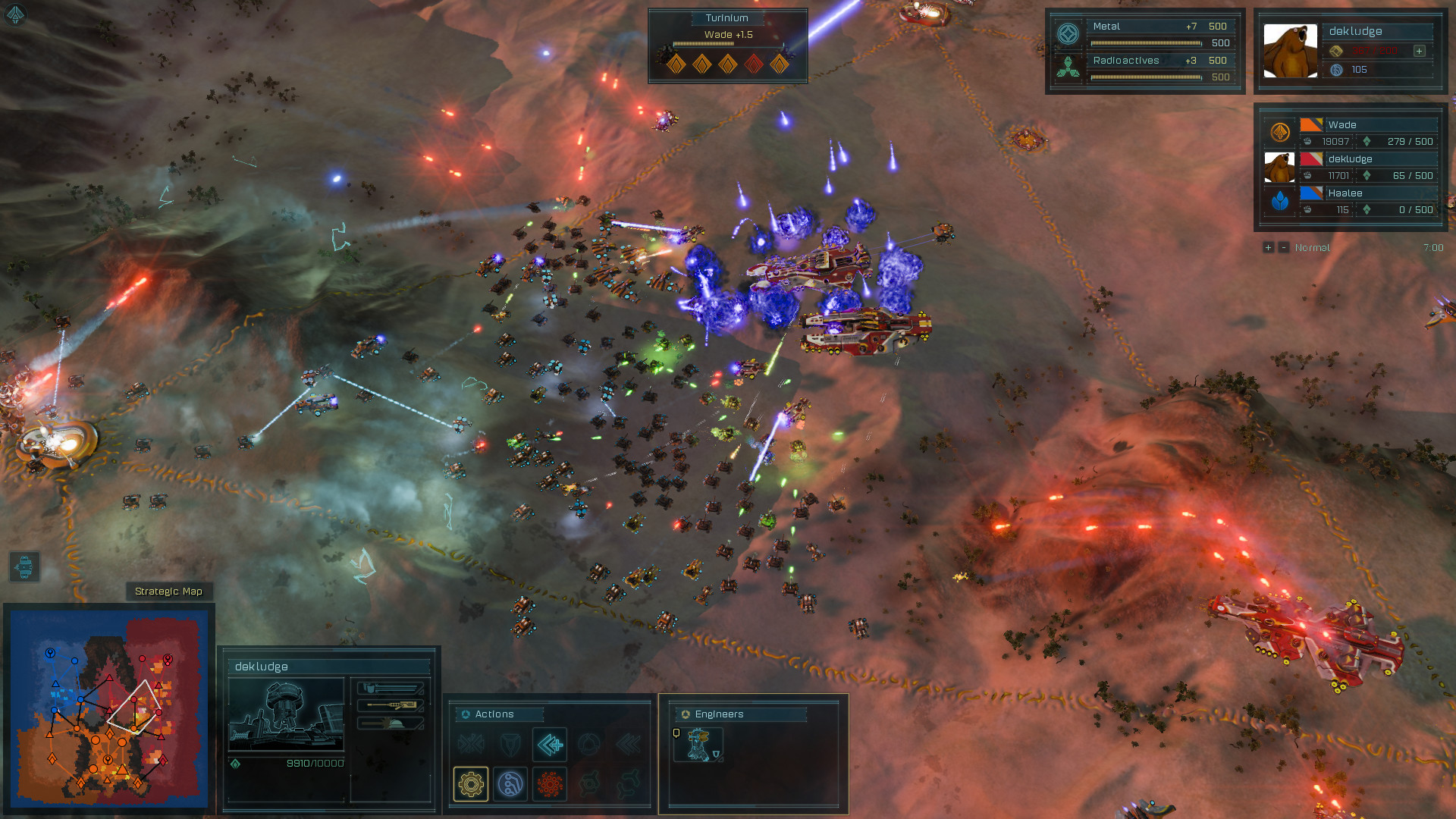 Ashes of the Singularity: Escalation - Turtle Wars DLC screenshot