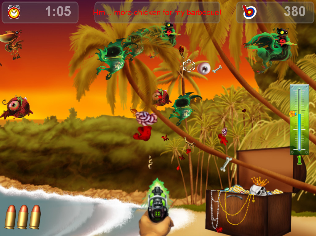 Zombie Birds First Encounter Halloween screenshot