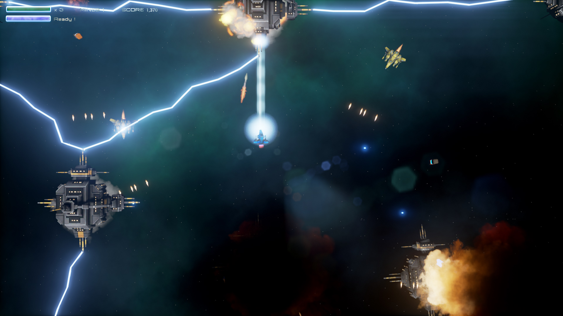 Galactic Storm Screenshot 1