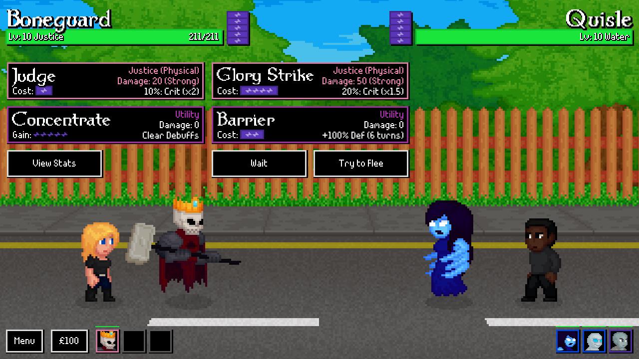 Ghostlords screenshot