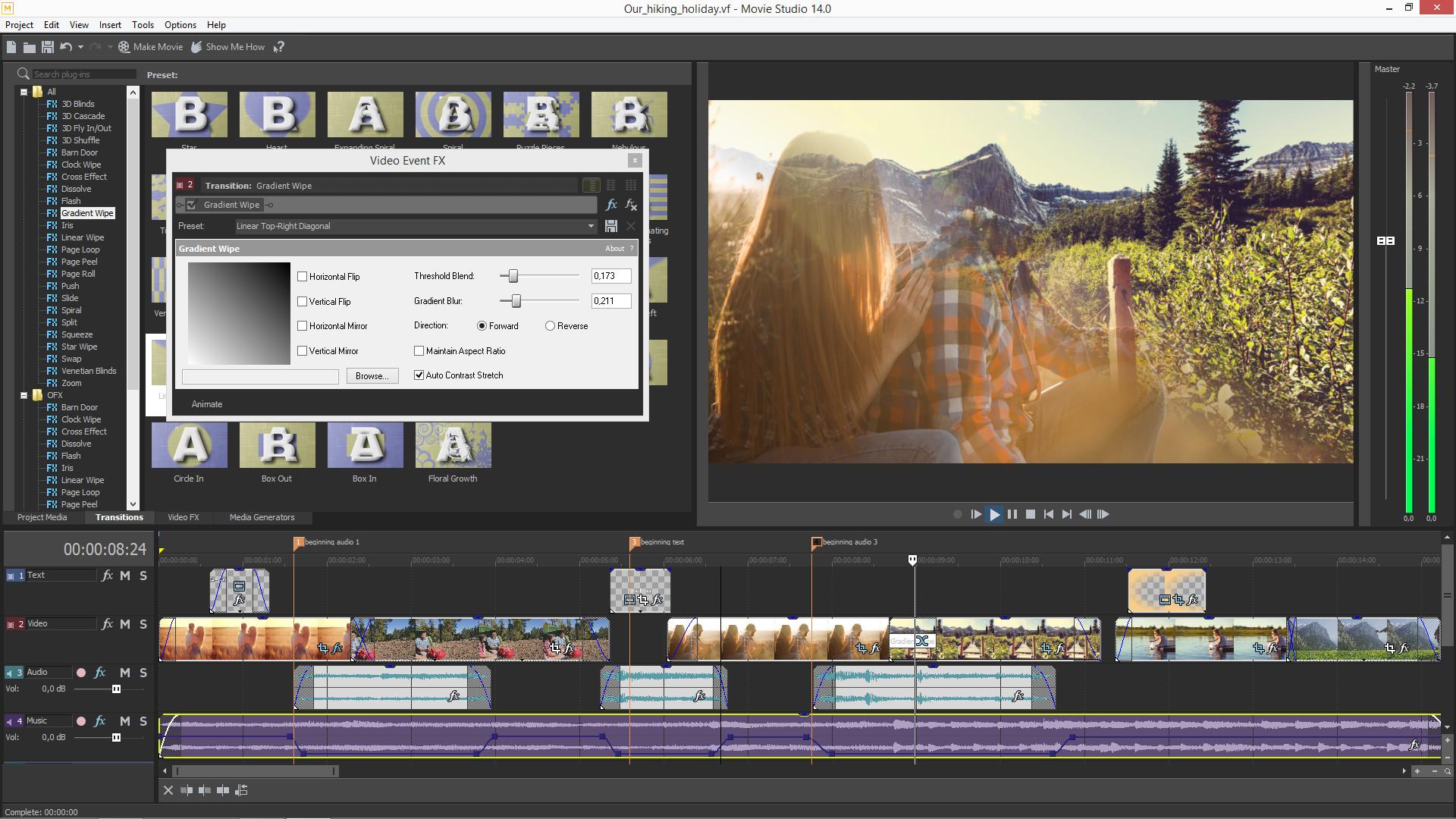 VEGAS Movie Studio 14 Steam Edition screenshot