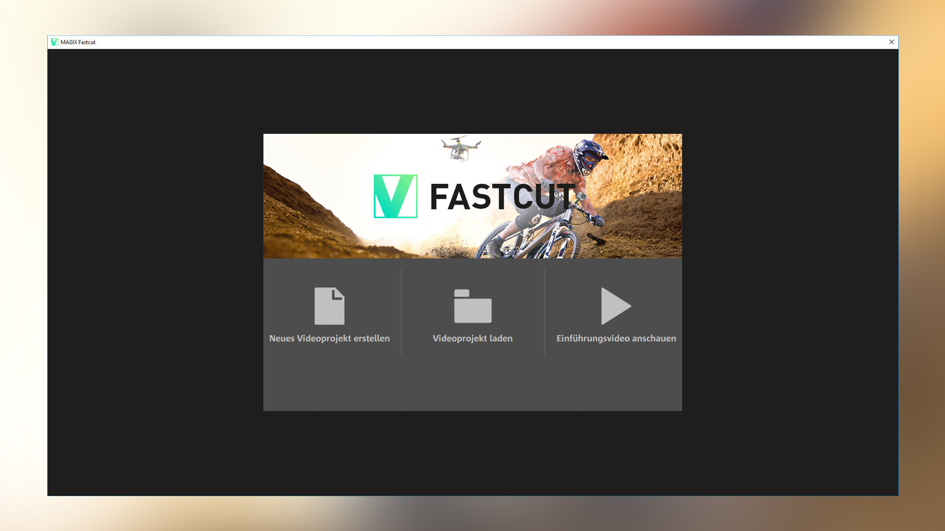 MAGIX Fastcut Plus 2017 Steam Edition screenshot