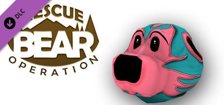 Rescue Bear Operation - Lucha Libre Mask
