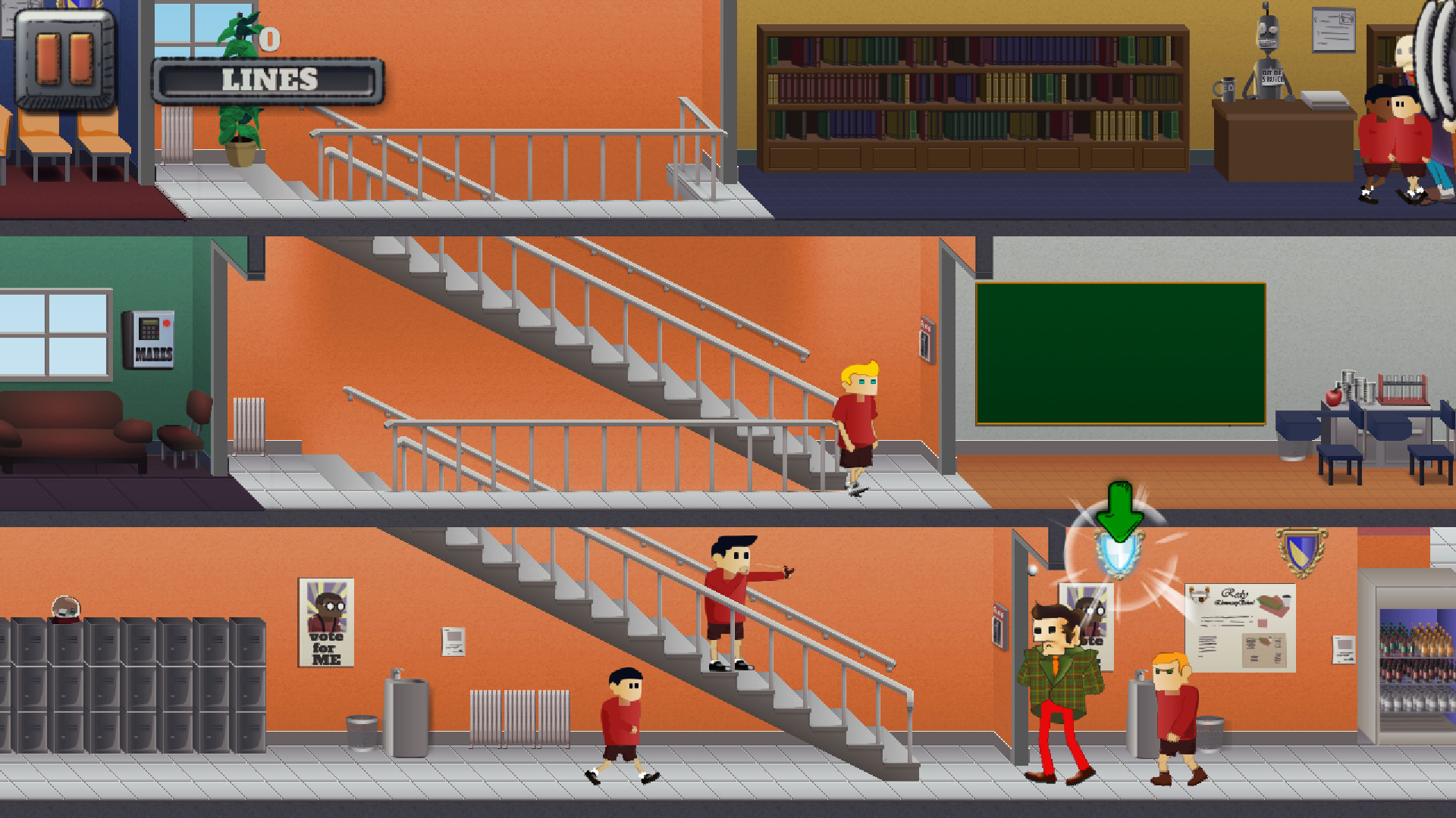 Skool Daze Reskooled screenshot