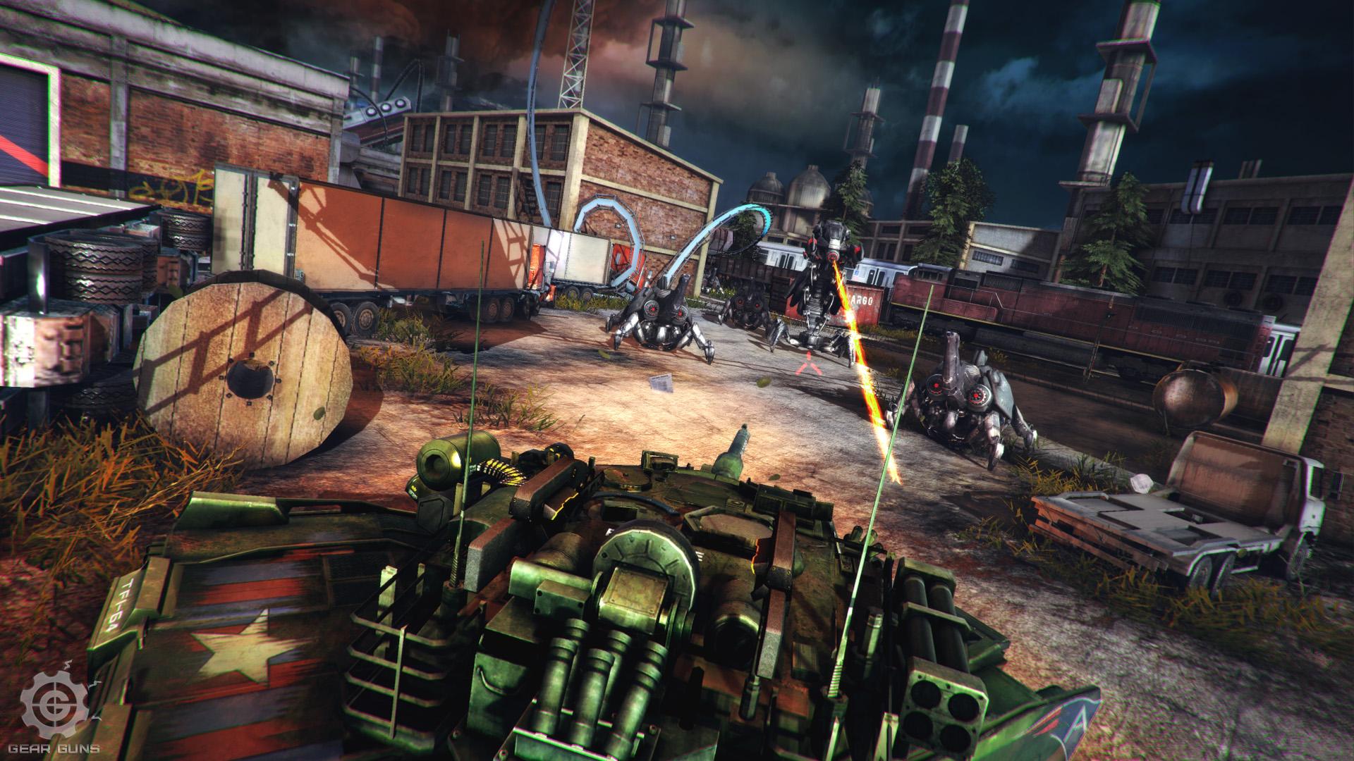 GEARGUNS - Tank Offensive (ENG) [L]