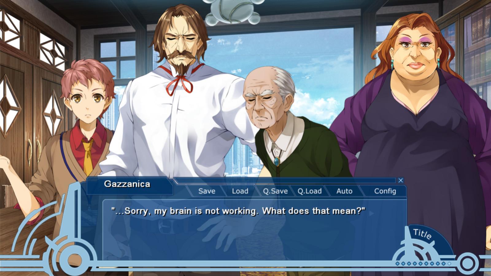 WORLD END ECONOMiCA episode.03 screenshot