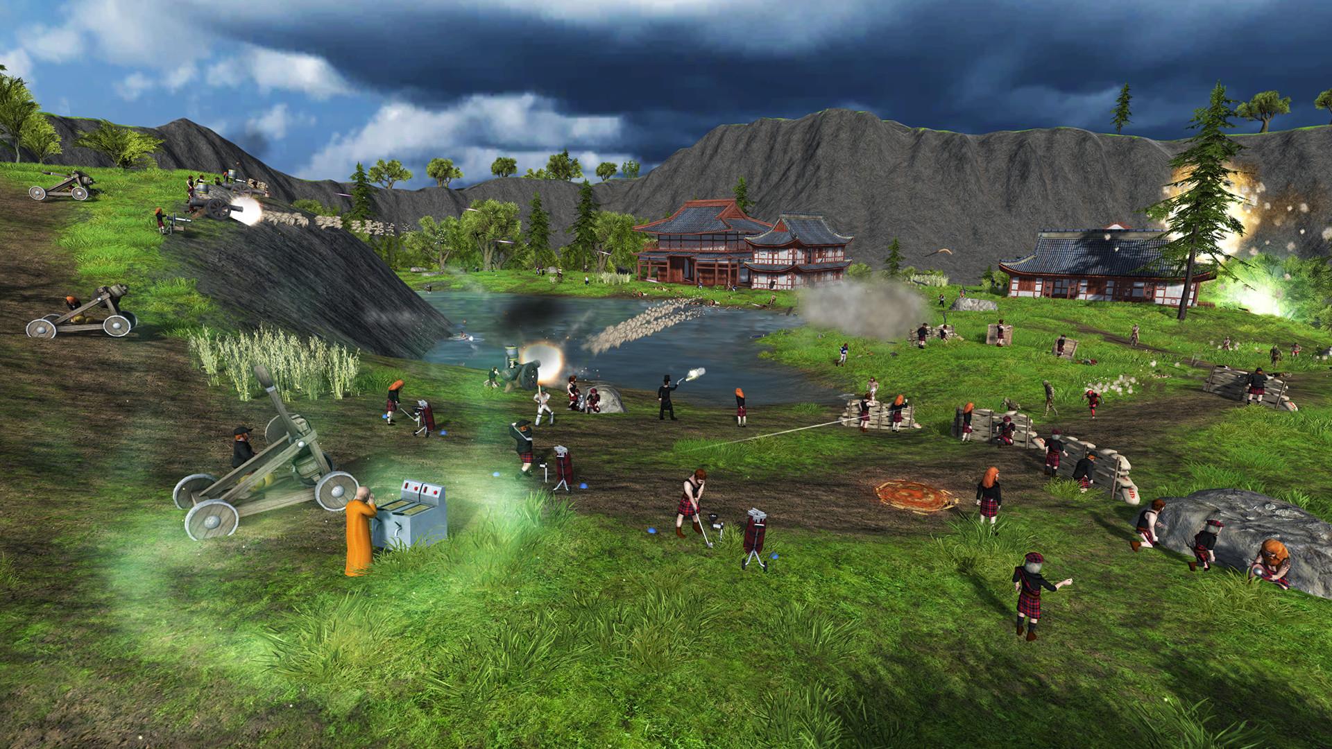 Defend the Highlands: World Tour screenshot