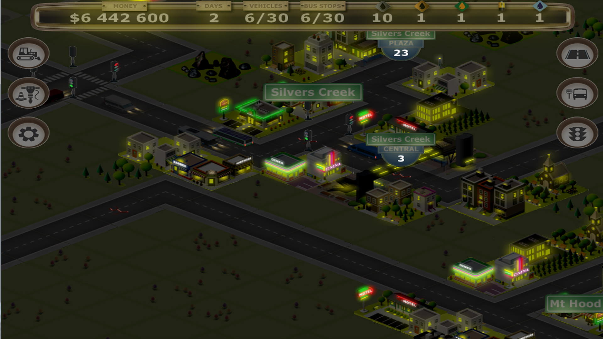 Bus Tycoon ND (Night and Day) screenshot