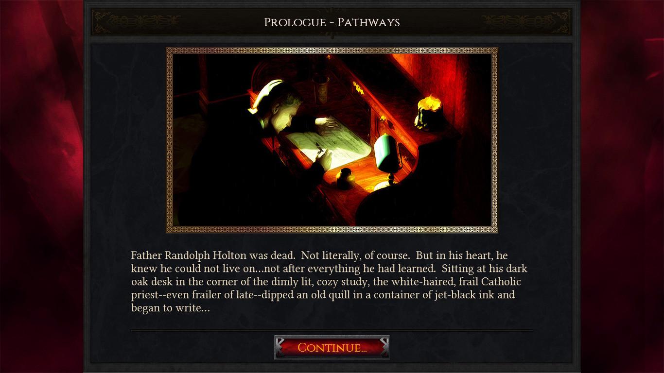 Lifestream - A Haunting Text Adventure screenshot